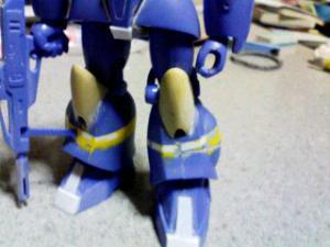 トゥランファムの足