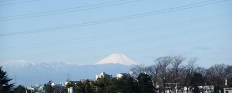 富士山 2009 3.2 遠景