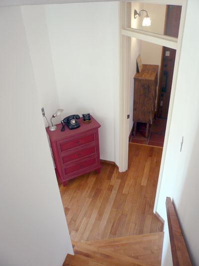 オープンハウス「階段から」