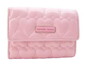 サマンサピンク財布