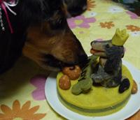 ケーキパクパク