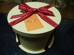 お誕生日ケーキ箱