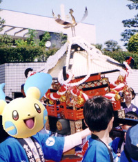お祭り-御神輿