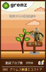 木の生長 リスザル