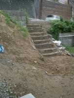 石階段完成