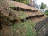 石積みよう壁遠景