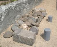 実家からの石