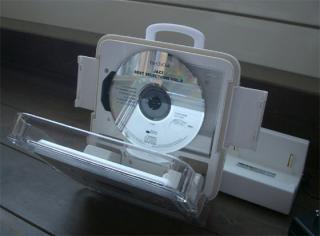 浴室用CDP-ぱかっと開けてCDセット