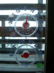 外気温3度