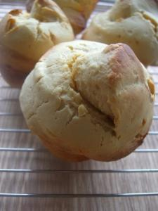 天然酵母のチーズケーキパン②