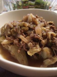 牛肉のオイスターバルサミコ煮