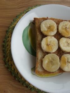 バナナピーナッツバター