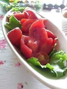光樹トマトのサラダ