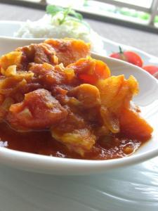 チキントマトカレー