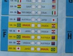 Copa対戦表