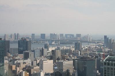 東京タワーからお台場