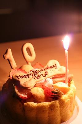 10歳おめでとう♪