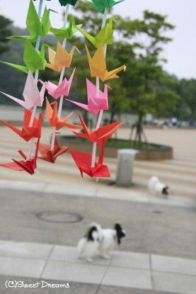 折り鶴に願いを・・・♪