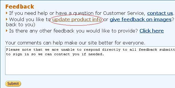 amazon.comの修正方法