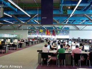 ポンピドゥセンター 図書館