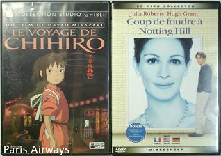 フランス語DVD せんと千尋の神隠し ノッティングヒルの恋人