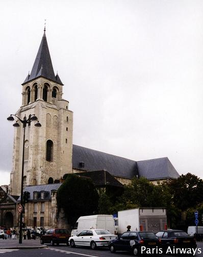 サンジェルマンデプレ教会