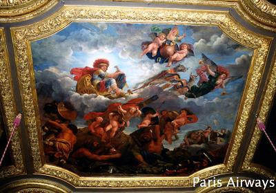 ヴェルサイユ宮殿 天井画