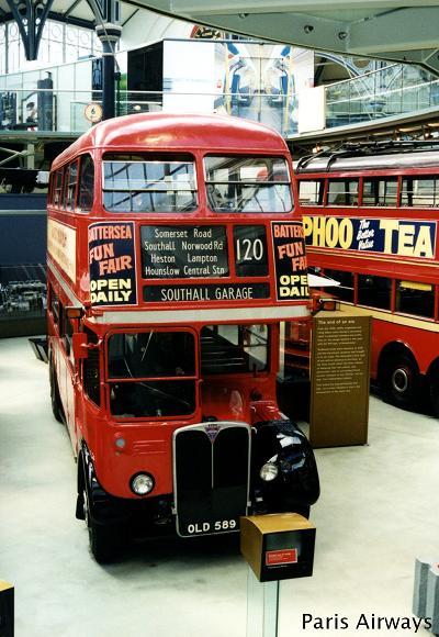 ロンドン 交通博物館 ルートマスター ロンドンバス