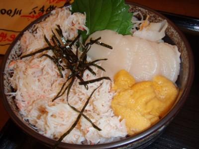 4日目 海鮮丼 ホタテ