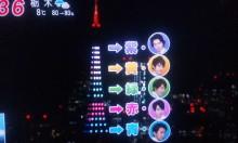 5色の東京タワー①