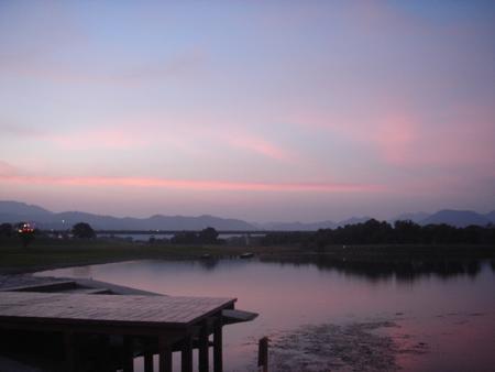 高梁川風景