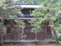 慈眼堂 横の建物
