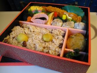お赤飯弁当 02
