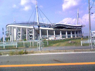 トヨタスタジアム。