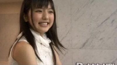 握手会真野恵里ちゃん。