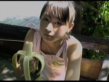 バナナ喰うあっきゃん。