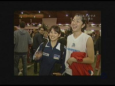 亜季子姫とエッちゃん。