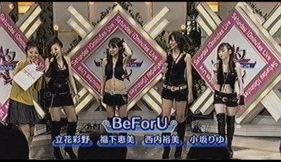 BeForU。