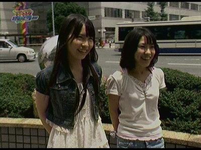 佐藤実絵子&松本梨奈。