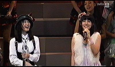 メアリーと玲奈ちゃん。
