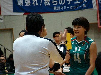 吉澤智恵。