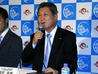 銀座販売の田村社長。
