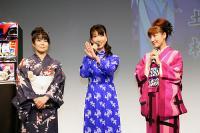 左から折笠さん、松井さん、池澤さん。