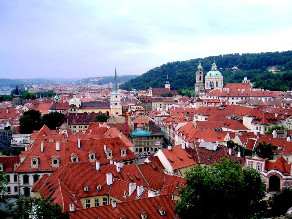 プラハの街並