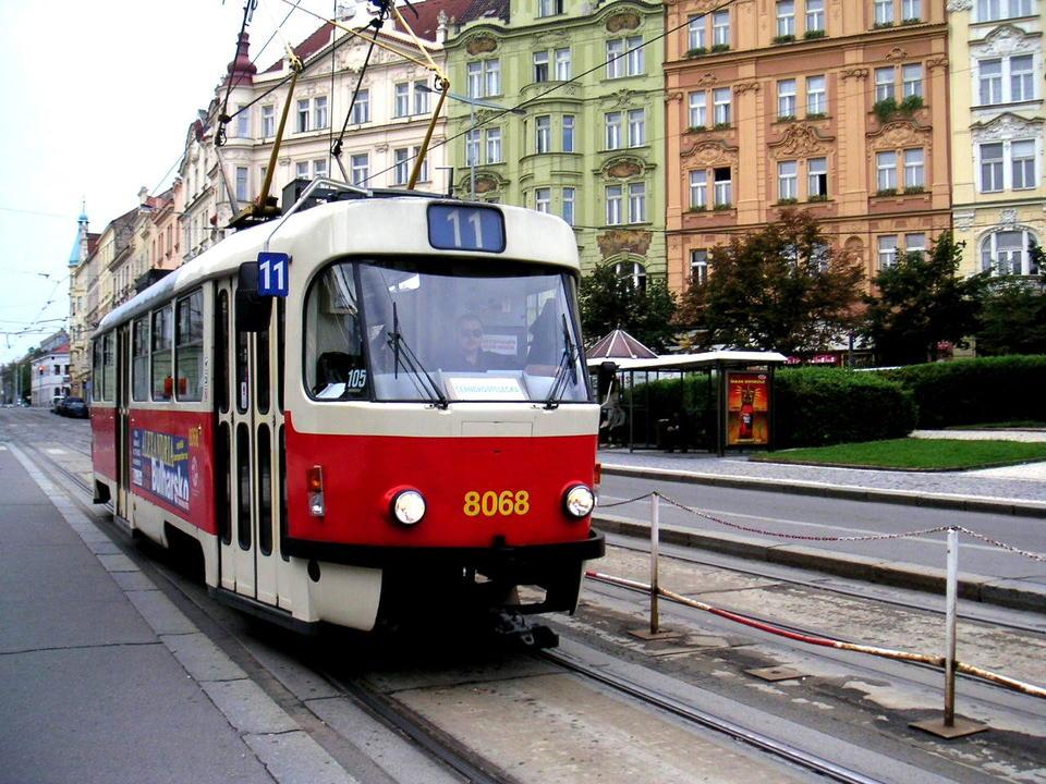 チェコの路面電車