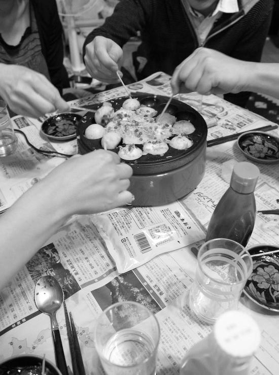 タコパ(たこ焼きパーティ)