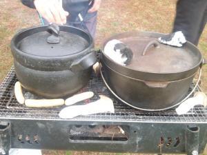 ダッチオーブンと土鍋