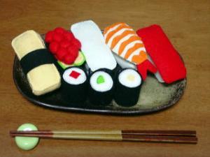 フェルトままごと 寿司