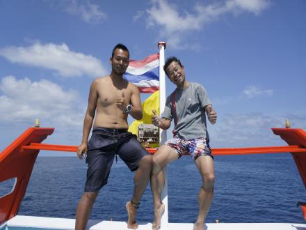 タオ島 ダイビング ダイバー誕生