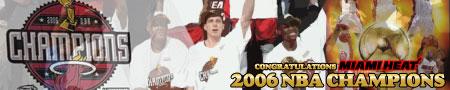 2006年NBAヒート優勝記念グッズ!!